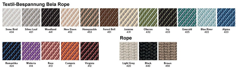 Kettal Textil-Bespannung