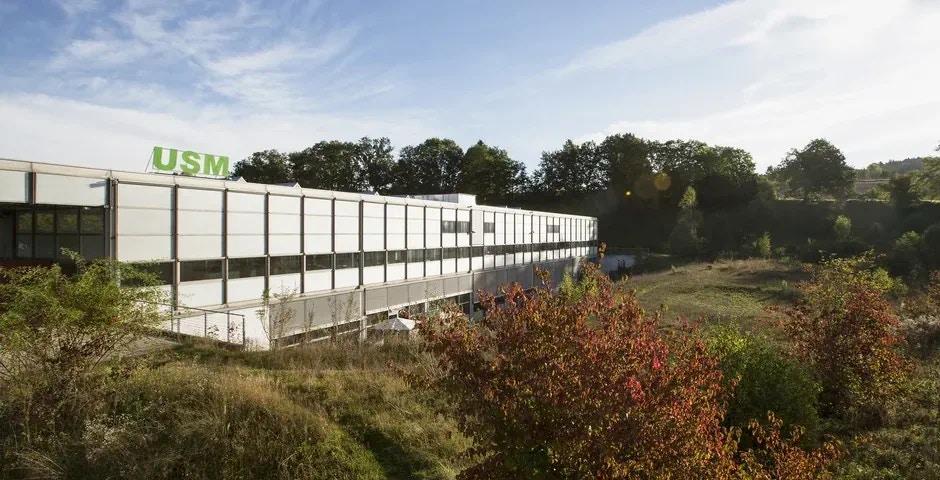 USM Haller Firmengebäude - Aussen Ansicht