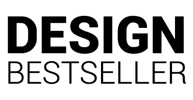 Design Bestseller Logo weiß