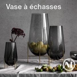 menu vase echasse